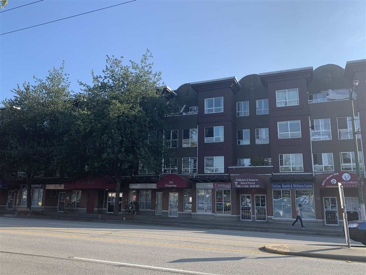 316 760 KINGSWAY - Fraser VE Apartment/Condo for sale, 1 Bedroom (R2483396)