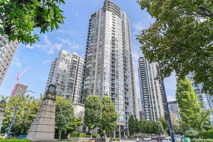 1906 1495 RICHARDS STREET - Yaletown Apartment/Condo for sale, 1 Bedroom (R2483399)