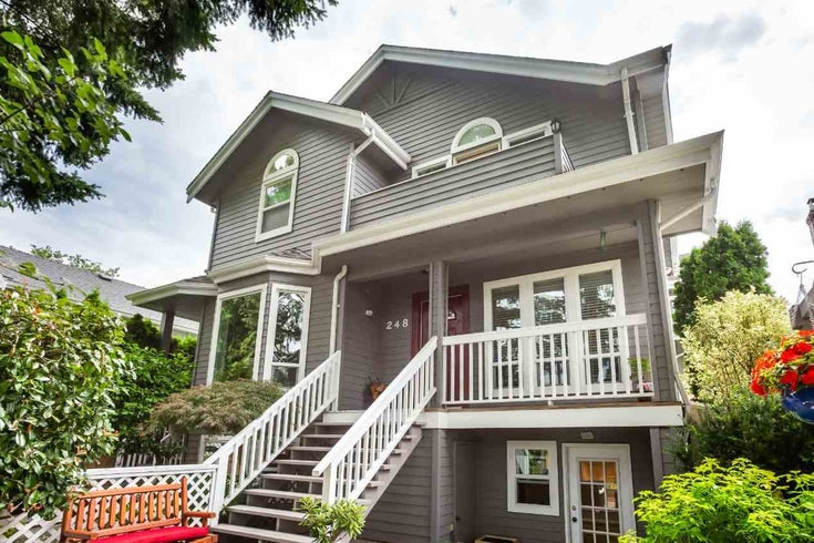248 W 16TH AVENUE - Cambie Townhouse for sale, 3 Bedrooms (R2483556)