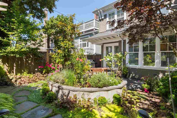 2952 W 2ND AVENUE - Kitsilano 1/2 Duplex for sale, 2 Bedrooms (R2483612)