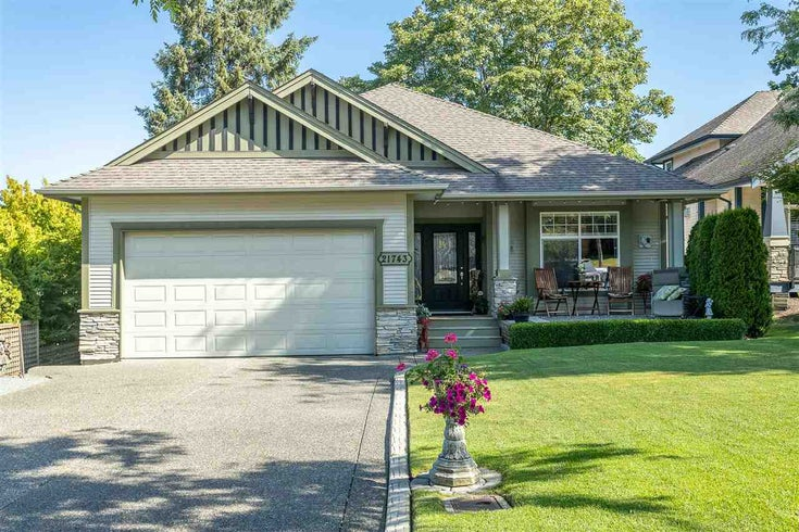 21743 47B AVENUE - Murrayville House/Single Family for sale, 5 Bedrooms (R2483675)
