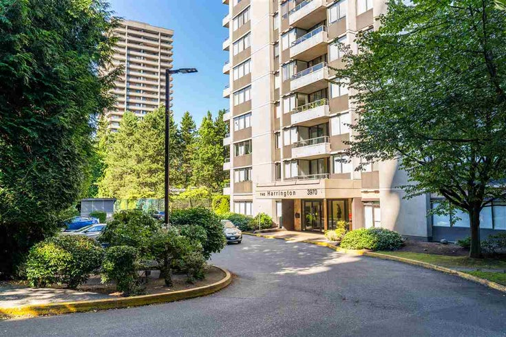 701 3970 CARRIGAN COURT - Government Road Apartment/Condo for sale, 1 Bedroom (R2483773)