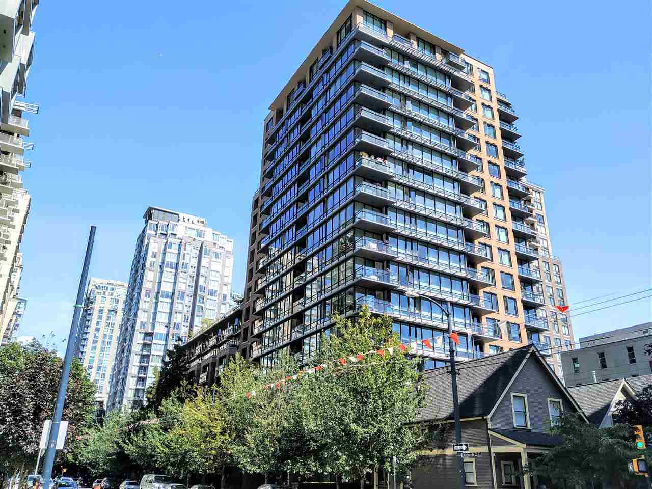 808 1088 RICHARDS STREET - Yaletown Apartment/Condo for sale, 1 Bedroom (R2483779)
