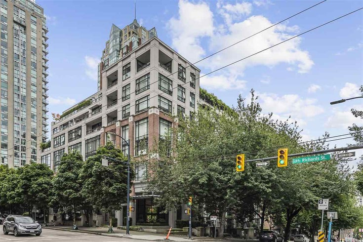 601 988 RICHARDS STREET - Yaletown Apartment/Condo for sale, 1 Bedroom (R2483802)