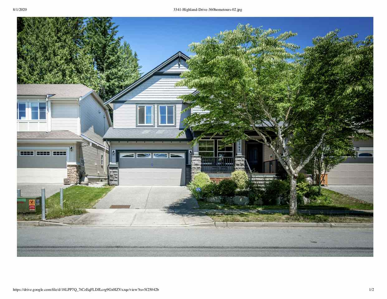 3341 HIGHLAND DRIVE - Burke Mountain House/Single Family for sale, 6 Bedrooms (R2483871) - #1