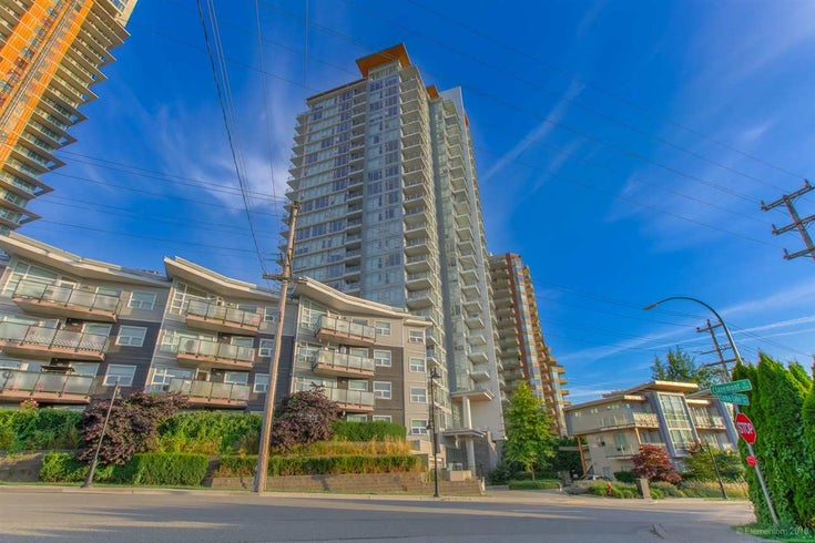 2603 520 COMO LAKE AVENUE - Coquitlam West Apartment/Condo for sale, 1 Bedroom (R2483945)