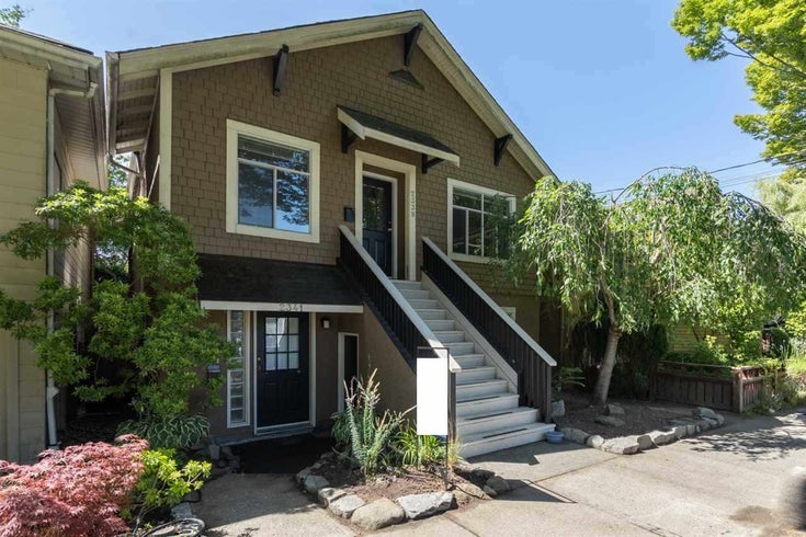 2339 TRAFALGAR STREET - Kitsilano House/Single Family for sale, 4 Bedrooms (R2484031)