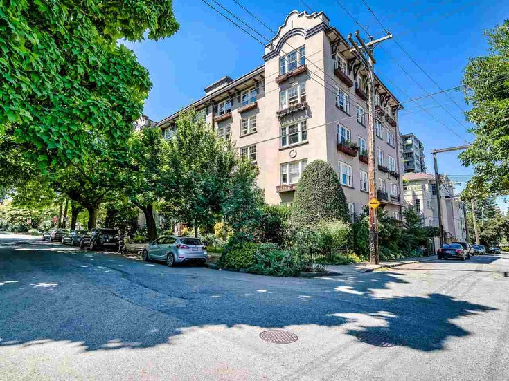 52 1101 NICOLA STREET - West End VW Apartment/Condo for sale, 1 Bedroom (R2484179)