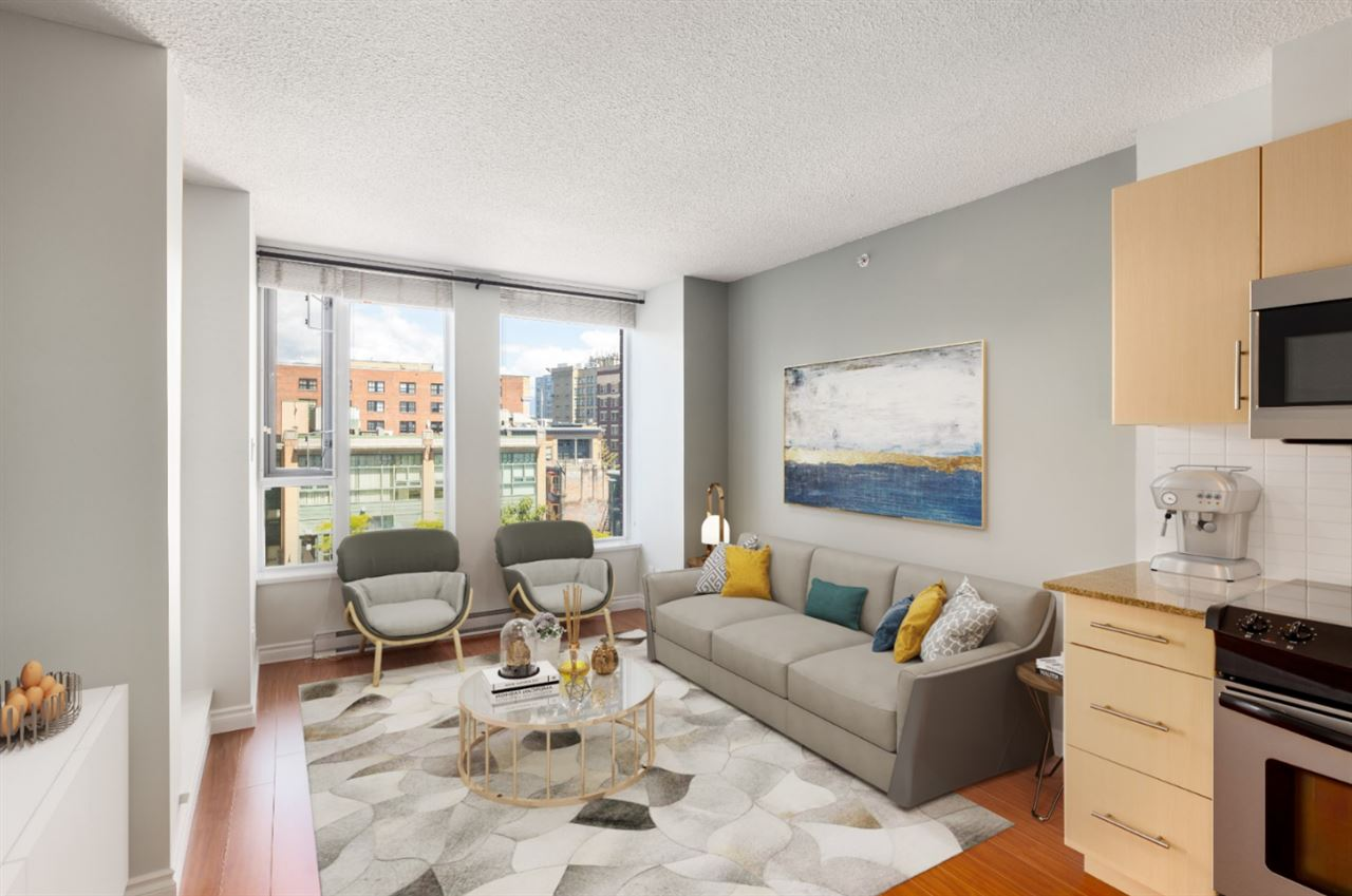 606 550 TAYLOR STREET - Downtown VW Apartment/Condo for sale, 1 Bedroom (R2484229)