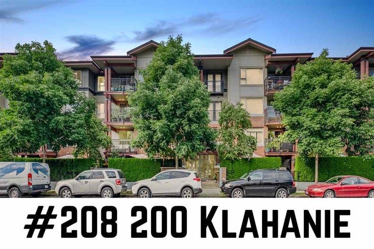 208 200 KLAHANIE DRIVE - Port Moody Centre Apartment/Condo for sale, 2 Bedrooms (R2484287)