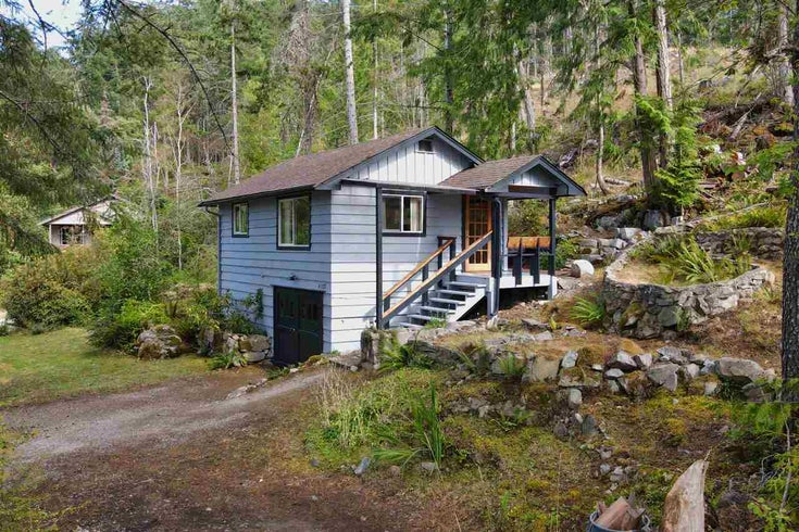 4122 FRANCIS PENINSULA ROAD - Pender Harbour Egmont House with Acreage for sale, 1 Bedroom (R2484335)