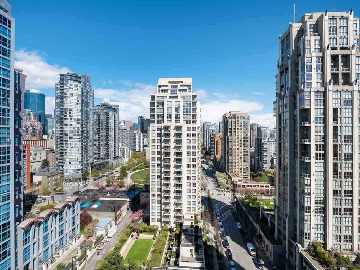1403 1295 RICHARDS STREET - Downtown VW Apartment/Condo for sale, 1 Bedroom (R2484423)