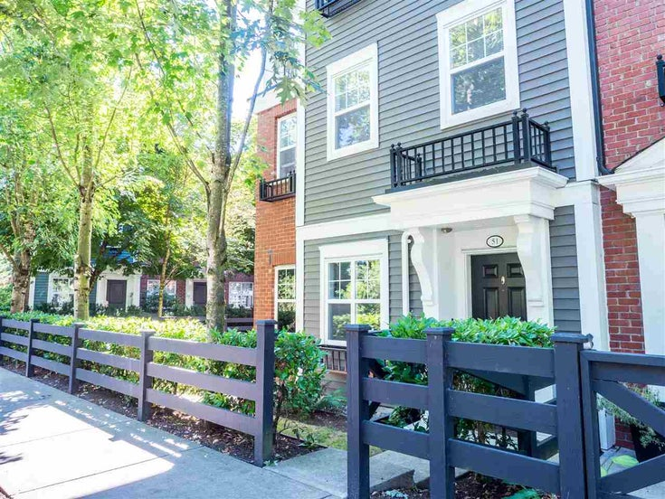 51 19572 FRASER WAY - South Meadows Townhouse for sale, 2 Bedrooms (R2484687)