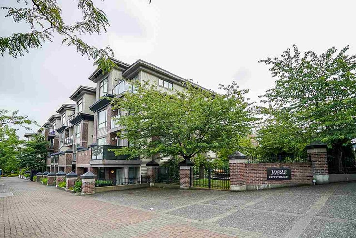 107 10822 CITY PARKWAY - Whalley Apartment/Condo for sale, 2 Bedrooms (R2484696)