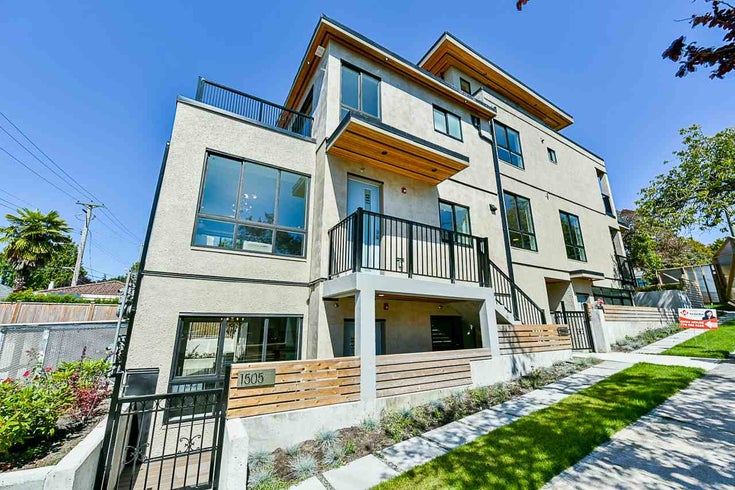1505 W 60TH AVENUE - South Granville Townhouse for sale, 2 Bedrooms (R2484763)