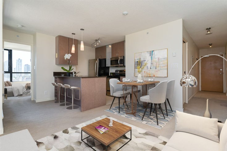 1307 977 MAINLAND STREET - Yaletown Apartment/Condo for sale, 1 Bedroom (R2485255)