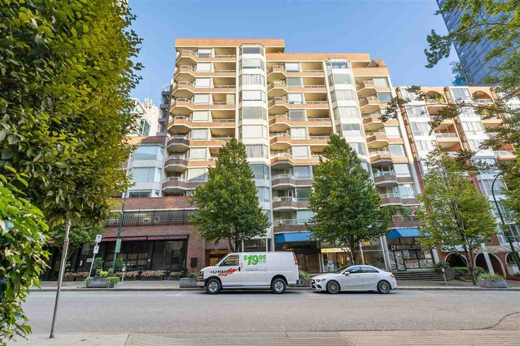 705 1330 HORNBY STREET - Downtown VW Apartment/Condo for sale(R2485389)