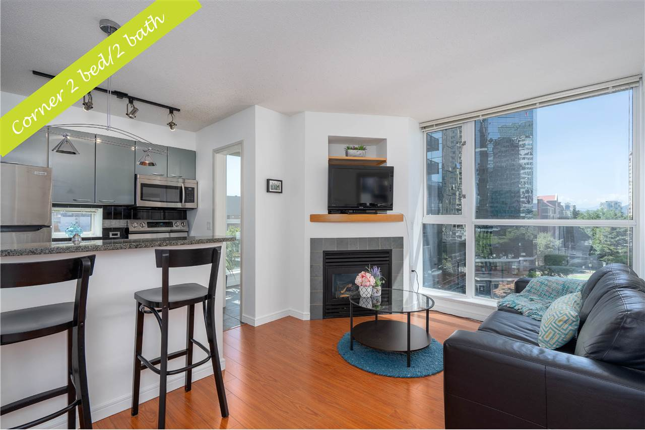 1106 1068 HORNBY STREET - Downtown VW Apartment/Condo for sale, 2 Bedrooms (R2485432)