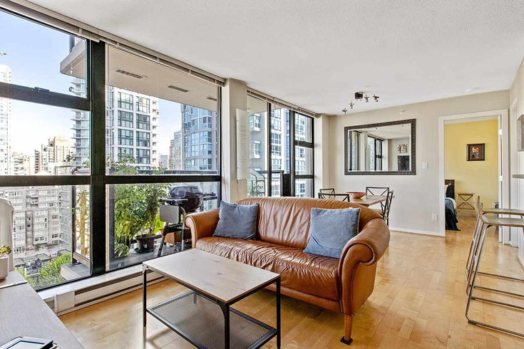 1609 1295 RICHARDS STREET - Downtown VW Apartment/Condo for sale, 2 Bedrooms (R2485624)