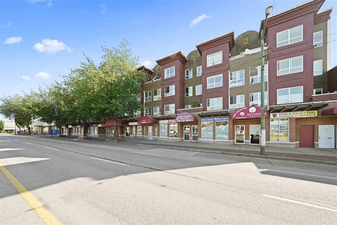 206 760 KINGSWAY AVENUE - Fraser VE Apartment/Condo for sale(R2485838) - #1