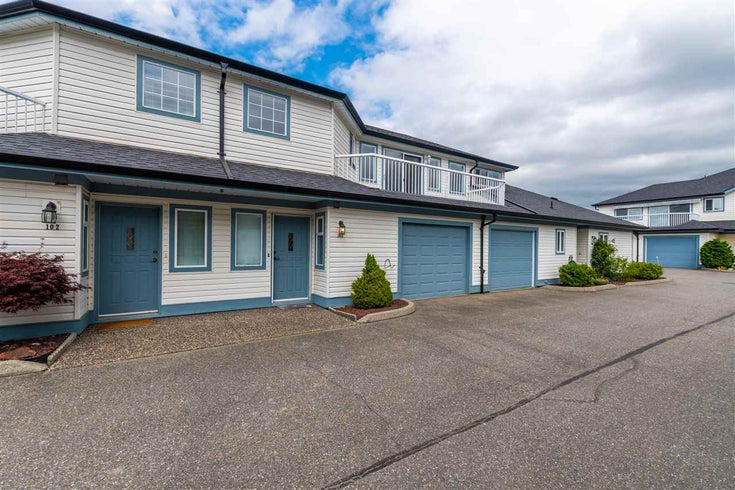 103 9296 HAZEL STREET - Chilliwack E Young-Yale Townhouse for sale, 3 Bedrooms (R2486004)