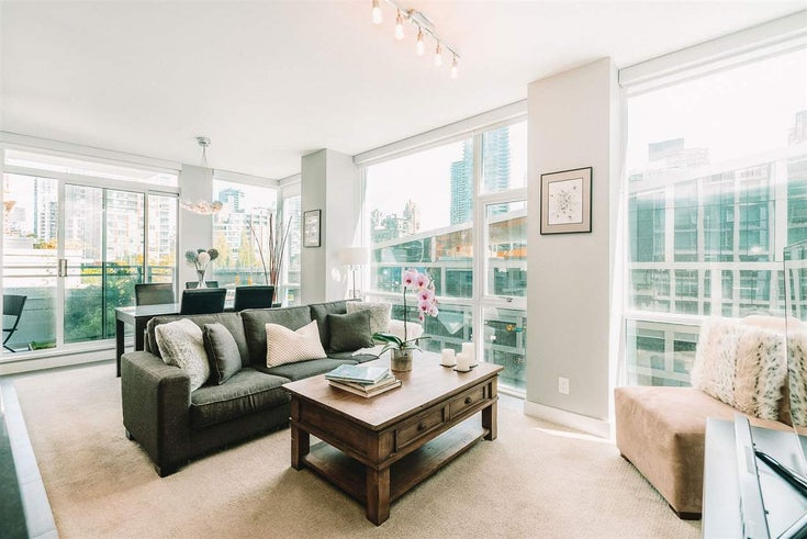 503 1455 HOWE STREET - Yaletown Apartment/Condo for sale, 1 Bedroom (R2486086)