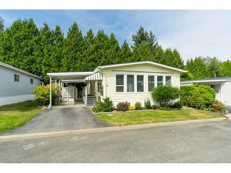 13 13507 81 AVENUE - Queen Mary Park Surrey Manufactured for sale, 2 Bedrooms (R2486452)