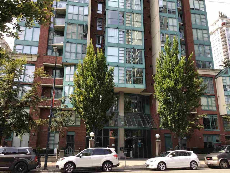 708 939 HOMER STREET - Yaletown Apartment/Condo for sale, 1 Bedroom (R2486455)