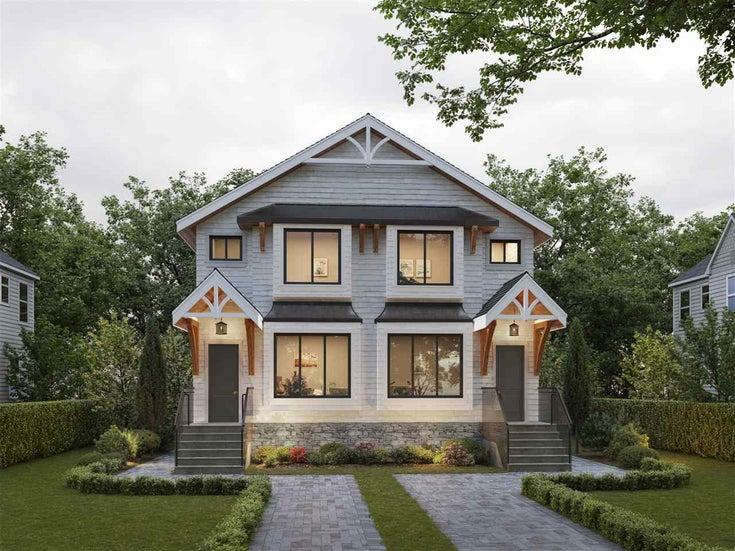 2850 W 23RD AVENUE - Arbutus 1/2 Duplex for sale, 4 Bedrooms (R2487026)
