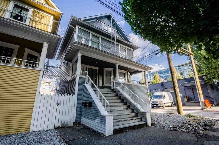 2022 ONTARIO STREET - Mount Pleasant VE House/Single Family for sale, 4 Bedrooms (R2487060)