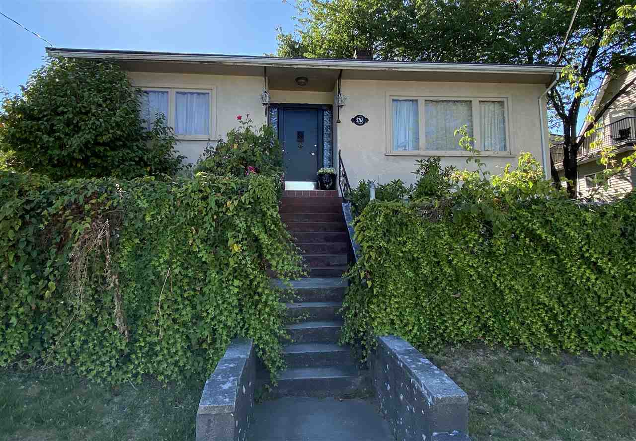5765 QUEBEC STREET - Main House/Single Family for sale, 3 Bedrooms (R2487169)