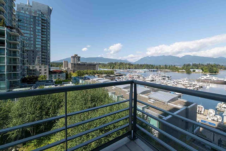 607 499 BROUGHTON STREET - Coal Harbour Apartment/Condo for sale, 1 Bedroom (R2487496)