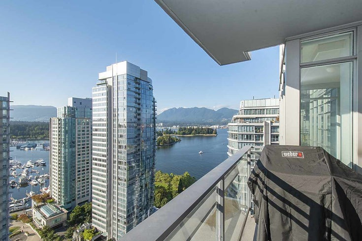 2601 1205 W HASTINGS STREET - Coal Harbour Apartment/Condo for sale, 2 Bedrooms (R2487501)