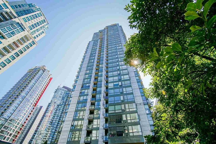 1706 1239 W GEORGIA STREET - Coal Harbour Apartment/Condo for sale, 1 Bedroom (R2488279)