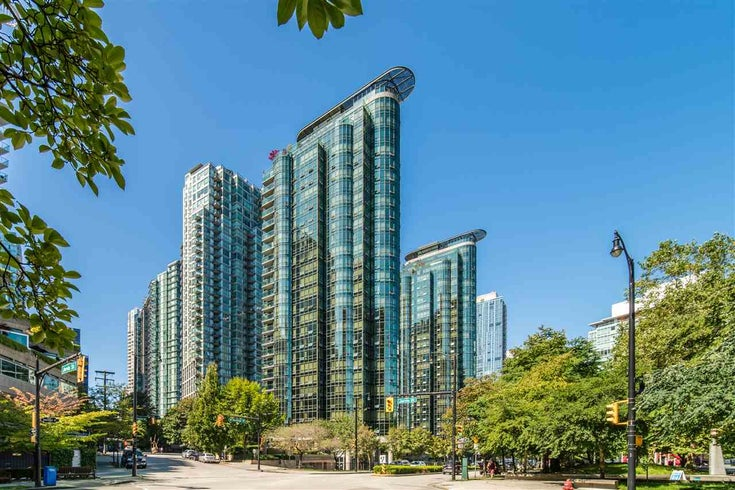 2307 555 JERVIS STREET - Coal Harbour Apartment/Condo for sale, 1 Bedroom (R2489146)