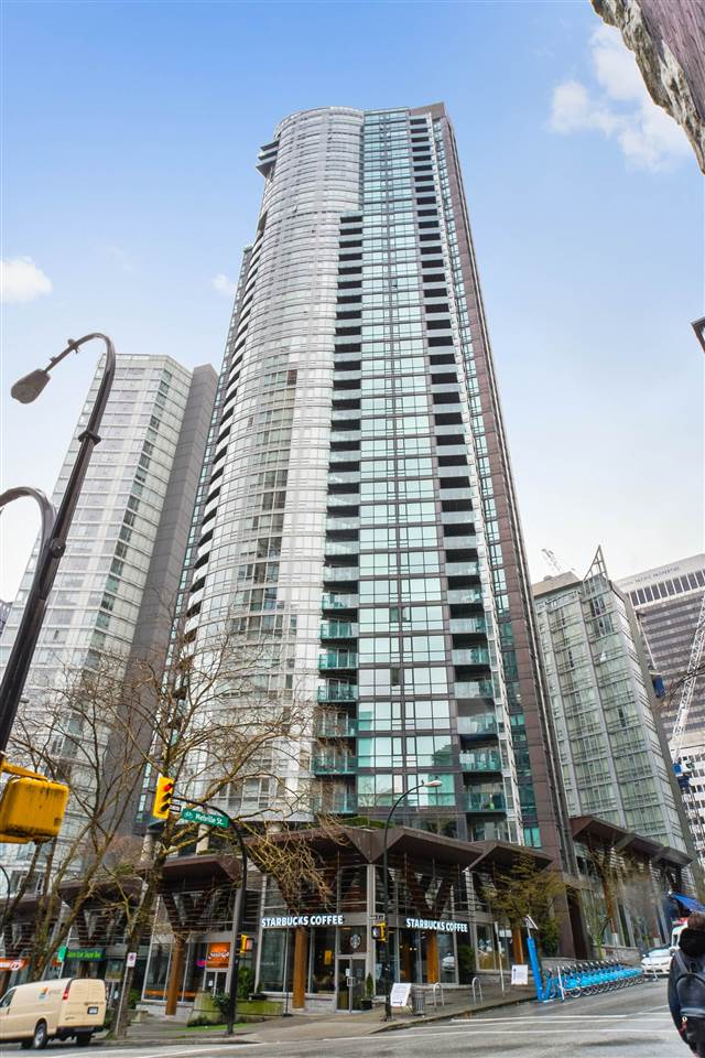 2705 1189 MELVILLE STREET - Coal Harbour Apartment/Condo for sale, 1 Bedroom (R2489278) - #1