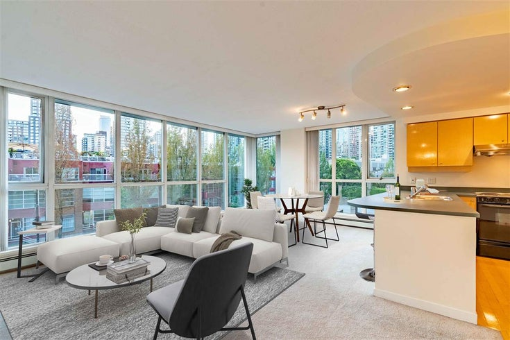 501 1018 CAMBIE STREET - Yaletown Apartment/Condo for sale, 1 Bedroom (R2489483)
