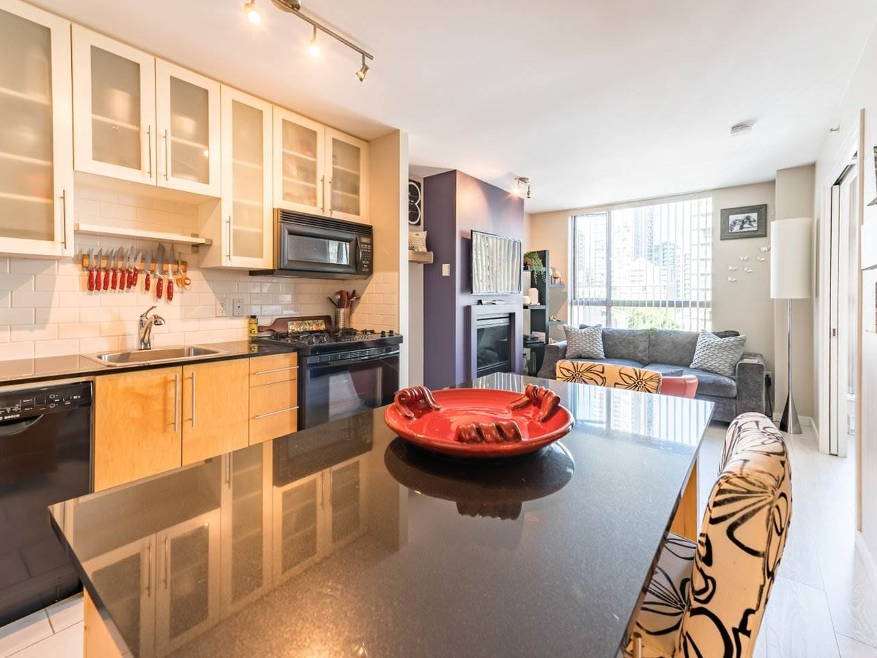 809 1225 RICHARDS STREET - Downtown VW Apartment/Condo for sale, 1 Bedroom (R2490805) - #1