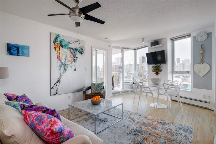 3502 188 KEEFER PLACE - Downtown VW Apartment/Condo for sale, 2 Bedrooms (R2490811)