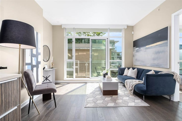 509 1616 COLUMBIA STREET - False Creek Apartment/Condo for sale, 1 Bedroom (R2490987)