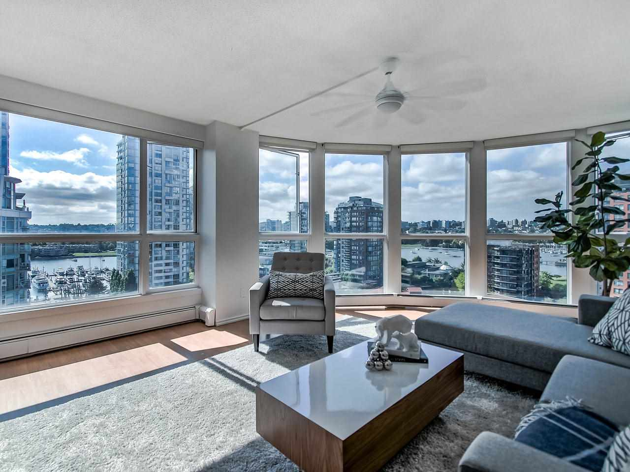 1305 283 DAVIE STREET - Yaletown Apartment/Condo for sale, 3 Bedrooms (R2491218) - #1