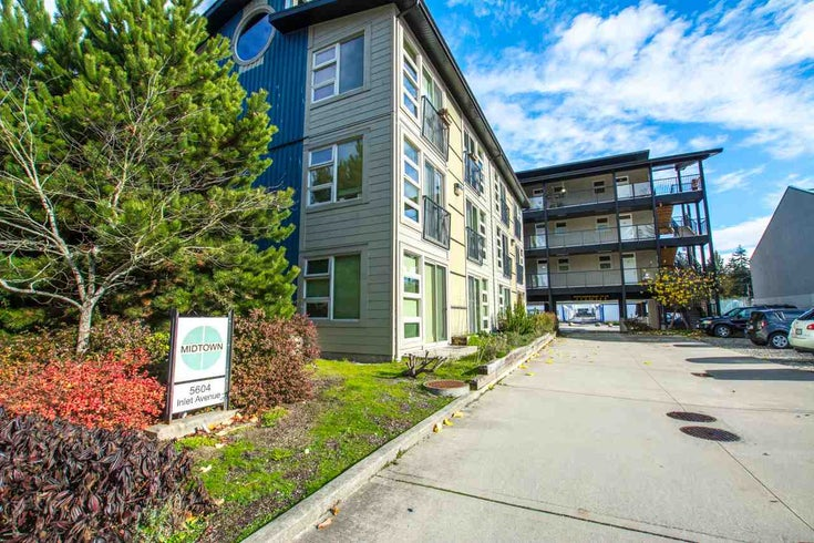 206 5604 INLET AVENUE - Sechelt District Apartment/Condo for sale, 1 Bedroom (R2491802)