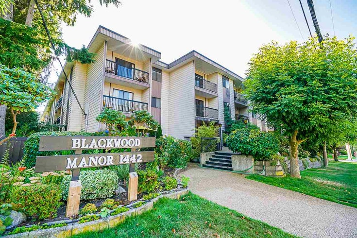 221 1442 BLACKWOOD STREET - White Rock Apartment/Condo for sale, 1 Bedroom (R2491878)