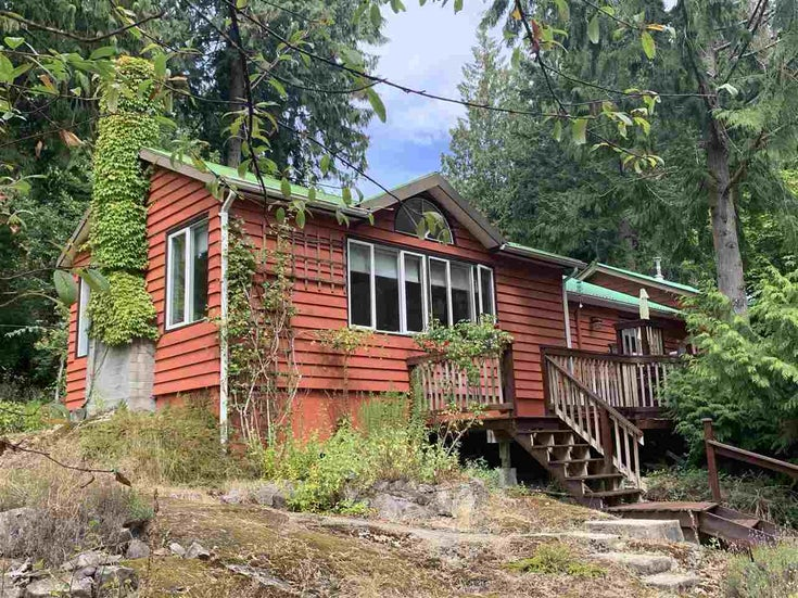 2220 MAPLE ROAD - Gambier Island House with Acreage for sale, 3 Bedrooms (R2493314)