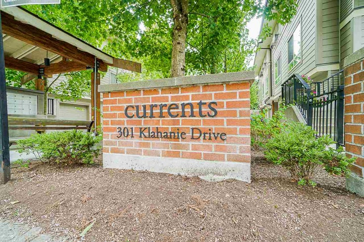 2 301 KLAHANIE DRIVE - Port Moody Centre Townhouse for sale, 3 Bedrooms (R2493337)