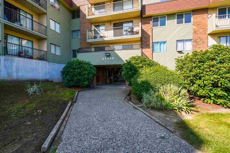 106 45598 MCINTOSH DRIVE - Chilliwack W Young-Well Apartment/Condo for sale, 1 Bedroom (R2493378)