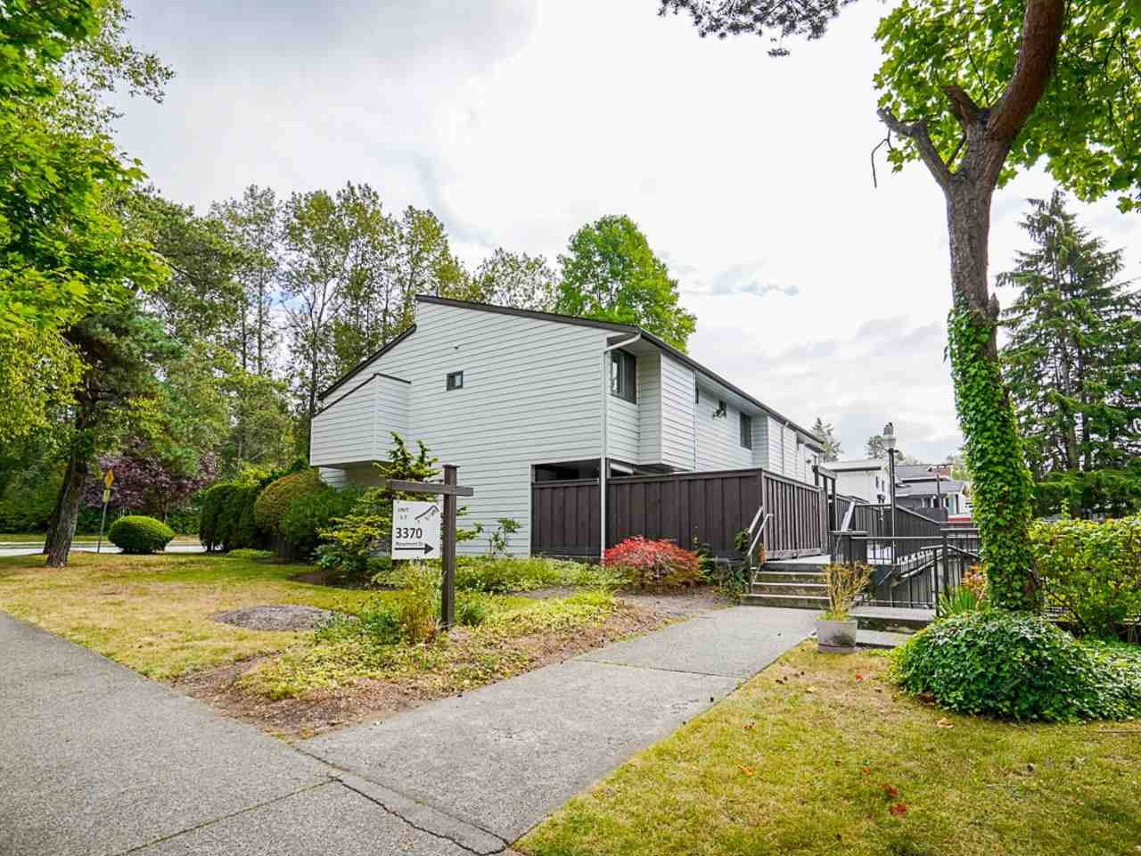 3 3370 ROSEMONT DRIVE - Champlain Heights Townhouse for sale, 3 Bedrooms (R2493440)
