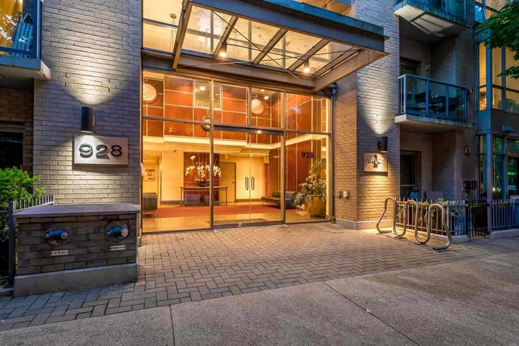 2504 928 RICHARDS STREET - Yaletown Apartment/Condo for sale, 1 Bedroom (R2493663)