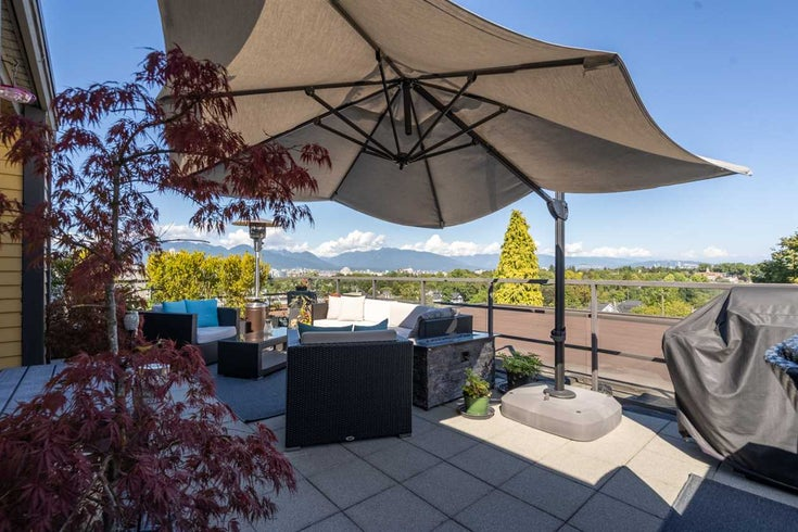 502 997 W 22ND AVENUE - Cambie Apartment/Condo for sale, 2 Bedrooms (R2494045)