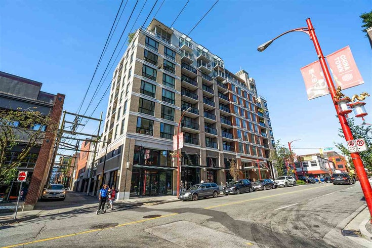 510 189 KEEFER STREET - Downtown VE Apartment/Condo for sale, 1 Bedroom (R2494421)